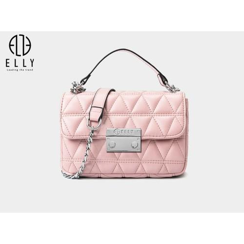 Túi xách nữ thời trang cao cấp ELLY- EL128 Hồng