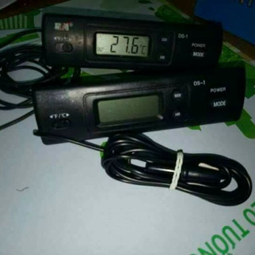 Nhiệt kế chữ nhật đồng hồ đo nhiệt độ điện tử