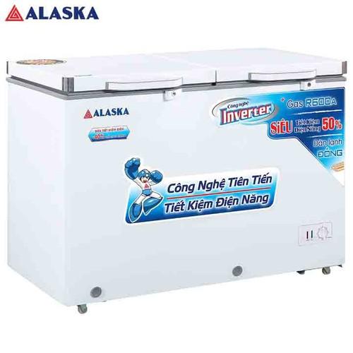 Tủ đông mát alaska inverter 450 lít fca-4600ci trắng