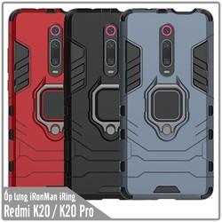 Ốp lưng XM Mi9T-Redmi K20 iRON - MAN IRING Nhựa PC cứng viền dẻo chống