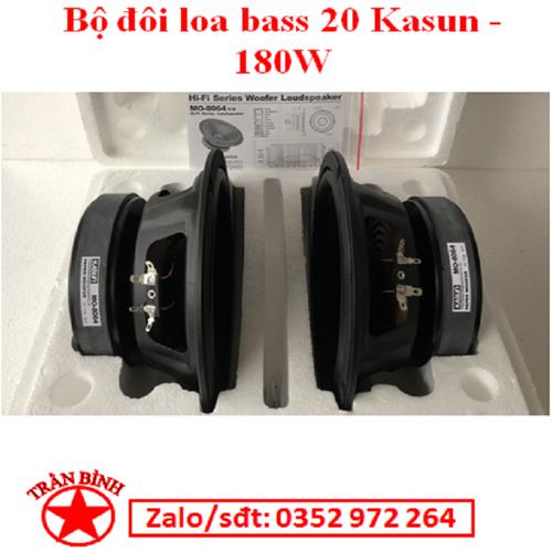 Bộ đôi loa công suất 180w - loa bass 20 cao cấp kasun