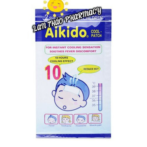 Miếng dán hạ sốt akido hộp 6 miếng chính hãng - 12331605 , 20084236 , 15_20084236 , 45000 , Mieng-dan-ha-sot-akido-hop-6-mieng-chinh-hang-15_20084236 , sendo.vn , Miếng dán hạ sốt akido hộp 6 miếng chính hãng