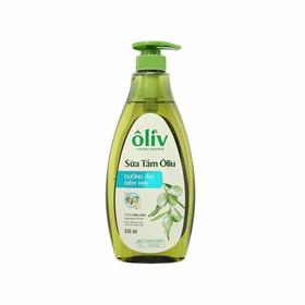 Sữa tắm Oliu dưỡng ẩm mềm mịn 650g - st oliu