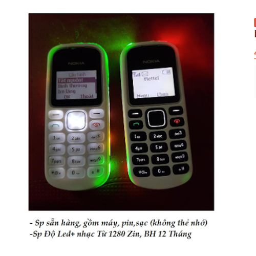 Nokia 1280 độ led