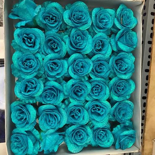 Hộp hoa hồng sáp kim tuyến