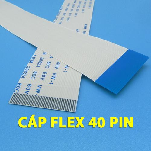 Cáp flex 40 pin cáp fpc ffc 40 pins - cáp màn hình lcd led - 12322716 , 20069341 , 15_20069341 , 46000 , Cap-flex-40-pin-cap-fpc-ffc-40-pins-cap-man-hinh-lcd-led-15_20069341 , sendo.vn , Cáp flex 40 pin cáp fpc ffc 40 pins - cáp màn hình lcd led