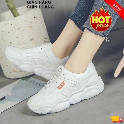 Giày thể thao nữ khâu viền da, gót sọc hapu màu kem, full trắng - 17071100 , 21988776 , 15_21988776 , 219000 , Giay-the-thao-nu-khau-vien-da-got-soc-hapu-mau-kem-full-trang-15_21988776 , sendo.vn , Giày thể thao nữ khâu viền da, gót sọc hapu màu kem, full trắng