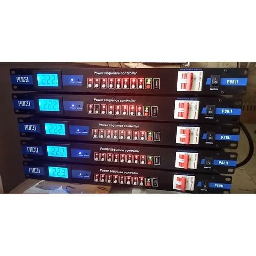 Quản lý nguồn điện pdcj p88ii-có cb chống chạm chập - dùng cho dàn âm thanh chuyên nghiệp
