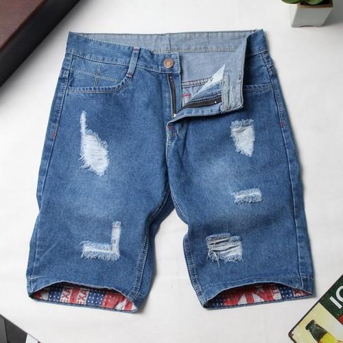 Quần short jean đẹp tl33 bán shop thành long vải đẹp