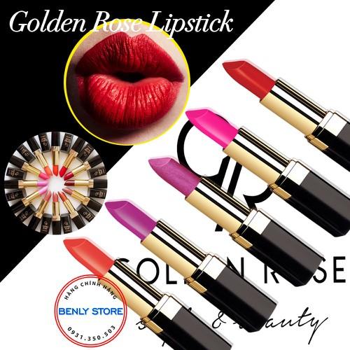 Son môi không chì chính hãng golden rose lipstick