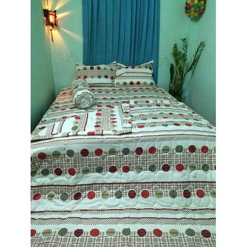Bộ drap cotton thắng lợi 5 món kèm mền, 1.6*2m, áo gối chần gòn. - 12349730 , 20109708 , 15_20109708 , 1180000 , Bo-drap-cotton-thang-loi-5-mon-kem-men-1.62m-ao-goi-chan-gon.-15_20109708 , sendo.vn , Bộ drap cotton thắng lợi 5 món kèm mền, 1.6*2m, áo gối chần gòn.