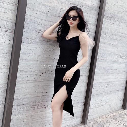 Đầm body xẻ đùi cao cấp