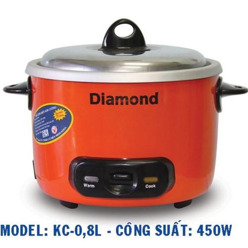 Nồi cơm điện kim cương nắp rời 0.8 lít - 12352439 , 20113530 , 15_20113530 , 290000 , Noi-com-dien-kim-cuong-nap-roi-0.8-lit-15_20113530 , sendo.vn , Nồi cơm điện kim cương nắp rời 0.8 lít