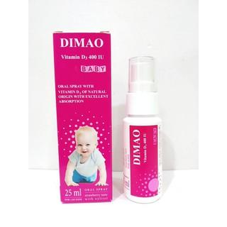 Vitamin D3 400 IU DIMAO dạng xịt từ Châu Âu - 25211 thumbnail