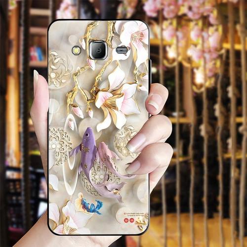 Ốp kính cường lực cho điện thoại Samsung Galaxy J2 Prime - bộ sưu tập cá MS BSTCA025