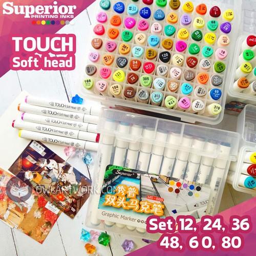 [Chính hãng] bộ bút marker touch soft head - set 12, 24, 36, 48, 60, 80 màu - 12338731 , 20094960 , 15_20094960 , 125000 , Chinh-hang-bo-but-marker-touch-soft-head-set-12-24-36-48-60-80-mau-15_20094960 , sendo.vn , [Chính hãng] bộ bút marker touch soft head - set 12, 24, 36, 48, 60, 80 màu