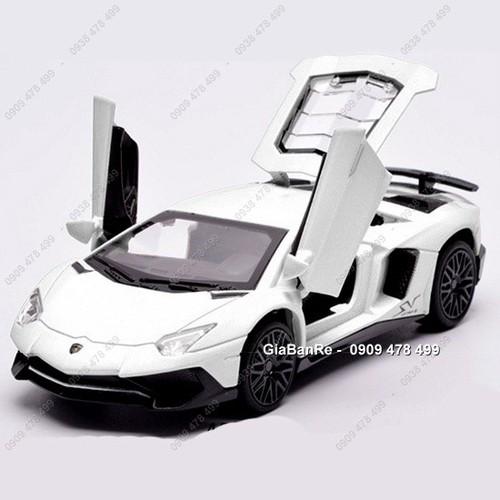 Xe mô hình kim loại tỉ lệ 1:32 siêu xe lambo aventador sv miniauto - trắng - 12336148 , 20090885 , 15_20090885 , 165000 , Xe-mo-hinh-kim-loai-ti-le-132-sieu-xe-lambo-aventador-sv-miniauto-trang-15_20090885 , sendo.vn , Xe mô hình kim loại tỉ lệ 1:32 siêu xe lambo aventador sv miniauto - trắng
