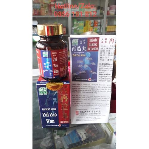 Zai zao wan - nhân sâm xa hương hỗ trợ khớp - 17350292 , 20093579 , 15_20093579 , 180000 , Zai-zao-wan-nhan-sam-xa-huong-ho-tro-khop-15_20093579 , sendo.vn , Zai zao wan - nhân sâm xa hương hỗ trợ khớp
