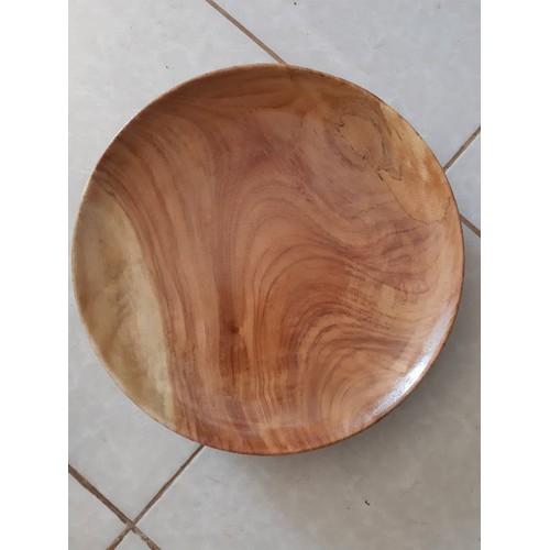 Đĩa trái cây gỗ cate