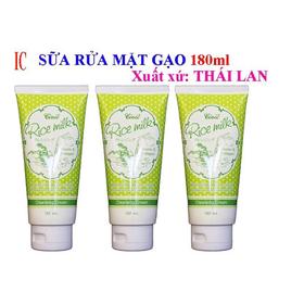 Sữa Rửa Mặt Gạo Rice Milk Thái Lan 180ml - 8850722091945