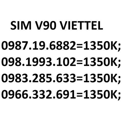 Sim viettel - 12336171 , 20090972 , 15_20090972 , 1350000 , Sim-viettel-15_20090972 , sendo.vn , Sim viettel