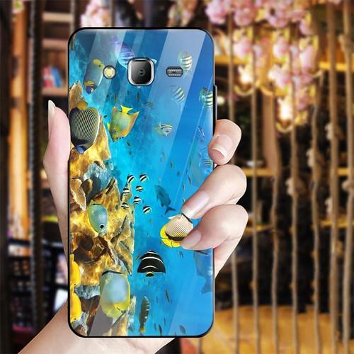 Ốp kính cường lực cho điện thoại Samsung Galaxy J2 Prime - bộ sưu tập cá MS BSTCA027