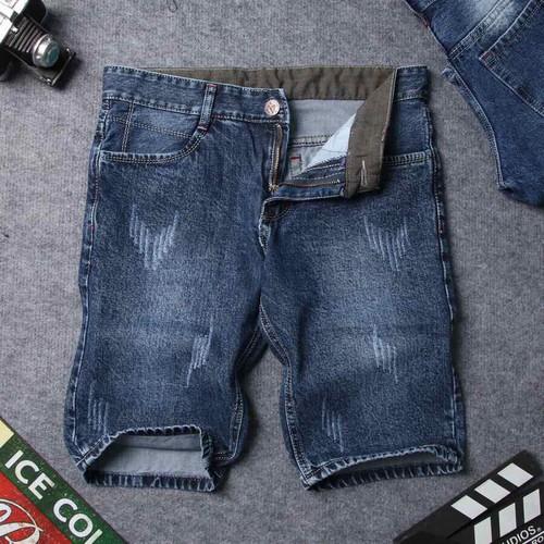 Quần đùi jean nam mã q01
