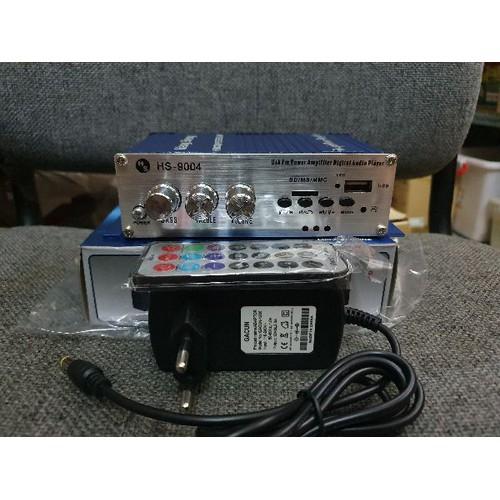 Ampli mini 12v hs9004- có nguồn