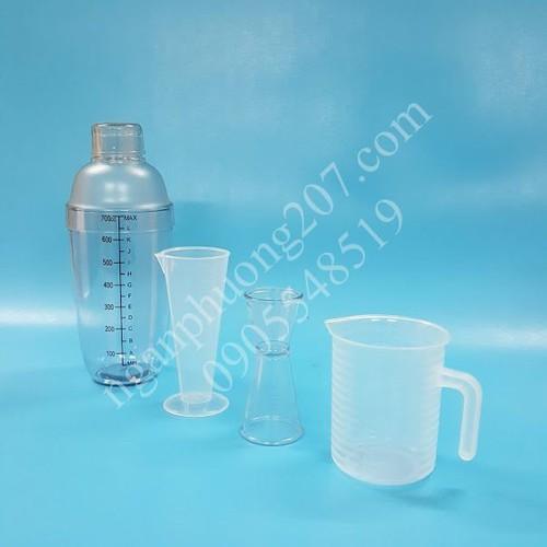 Combo 4 dụng cụ pha chế  cà phê, sinh tố, barista