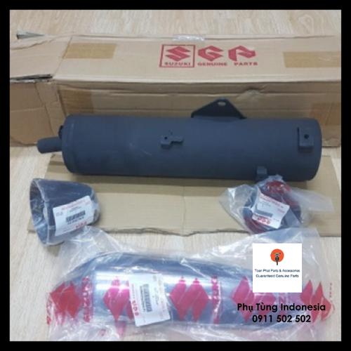 Full pô đen suzuki indonesia cho raider fi fu xăng cơ satria fi sonic nhập khẩu chính hãng