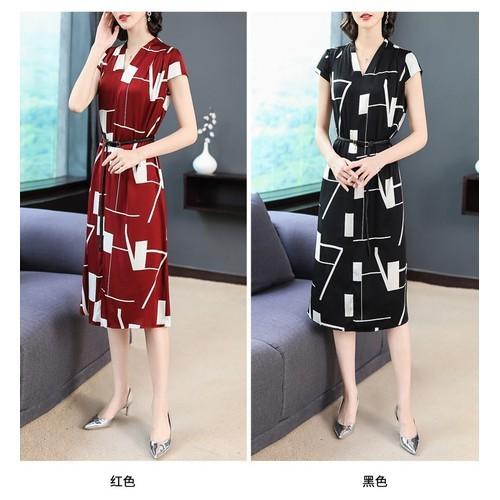 Đầm suông nữ cao cấp 8d0913  được kiểm tra hàng trước khi nhận