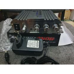 Ampli mini HX168AH 300w SUPER BASS-Kèm nguồn 12V-3A