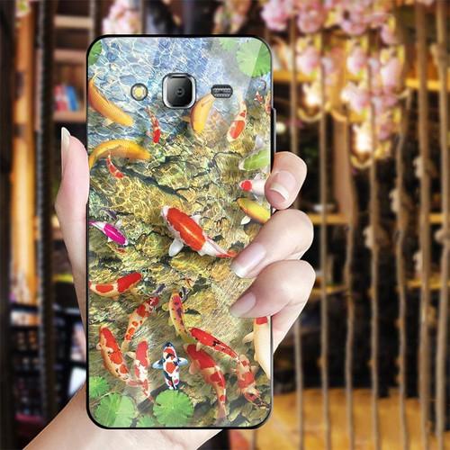 Ốp điện thoại kính cường lực cho máy Samsung Galaxy J2 Prime - bộ sưu tập cá MS BSTCA029