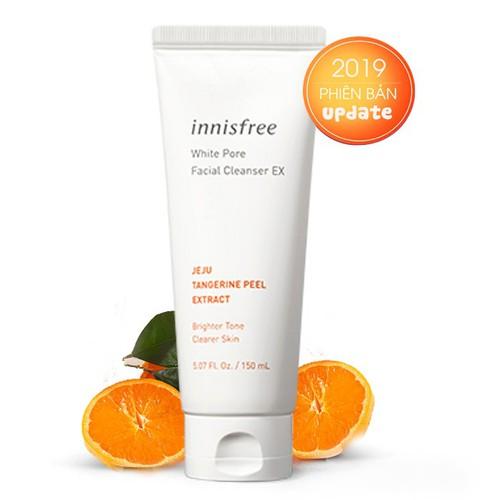 New 2019 sữa rửa mặt innisfree white pore facial cleanser ex 150ml