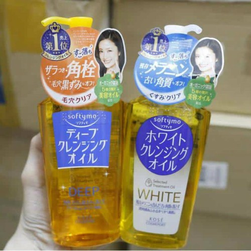 Dầu tẩy trang Kose Softymo 230ml Nhật Bản