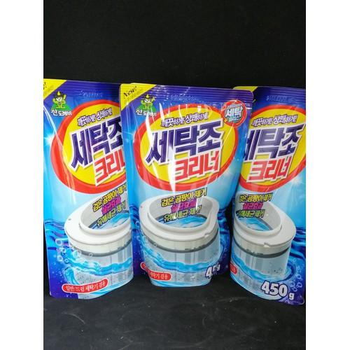 bột tẩy vệ sinh lồng máy giặt 450g