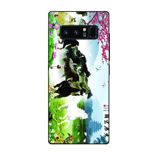 Ốp điện thoại kính cường lực cho máy Samsung Galaxy Note 9 - mã đáo thành công MS MDTC057