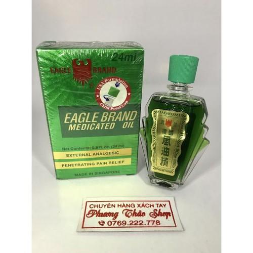 DẦU GIÓ XANH 2 NẮP MỸ CHÍNH HÃNG Eagle Brand 24ml - 11633107 , 20140146 , 15_20140146 , 150000 , DAU-GIO-XANH-2-NAP-MY-CHINH-HANG-Eagle-Brand-24ml-15_20140146 , sendo.vn , DẦU GIÓ XANH 2 NẮP MỸ CHÍNH HÃNG Eagle Brand 24ml