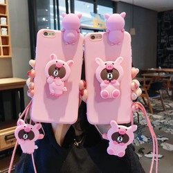 Ốp lưng dẻo hình thú leo iphone 11,11 Pro,11 Pro Max,5,5s,6,6s,6 plus,6s plus,7,8,7 plus,8 plus,X,XS,XR,XS Max tặng kèm giá đỡ và dây đeo