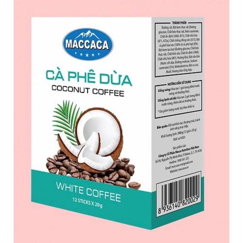 Cà phê Dừa - Maccaca Đậm Đà Cà phê, béo ngậy vị cốt dừa