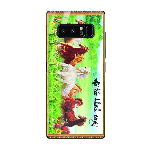 Ốp điện thoại kính cường lực cho máy Samsung Galaxy Note 8 - mã đáo thành công MS MDTC059