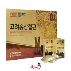 Hồng sâm lát mật ong hàn quốc Pocheon 200g