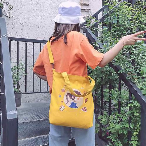 Túi tote hình cô gái như hình