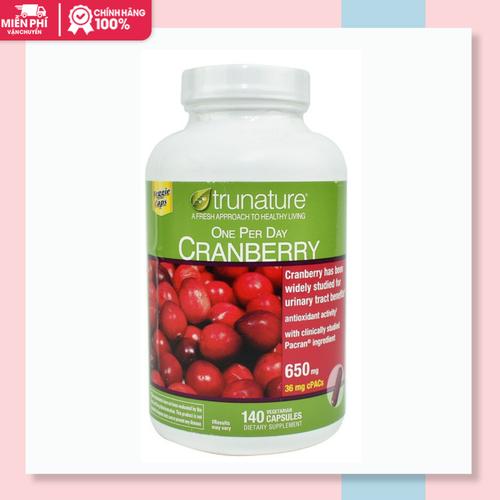 Viên uống trunature cranberry hỗ trợ đường tiết niệu|vien uong trunate cranberry xuất xứ mỹ 140 viên - 12358290 , 20121911 , 15_20121911 , 720000 , Vien-uong-trunature-cranberry-ho-tro-duong-tiet-nieuvien-uong-trunate-cranberry-xuat-xu-my-140-vien-15_20121911 , sendo.vn , Viên uống trunature cranberry hỗ trợ đường tiết niệu|vien uong trunate cranberry