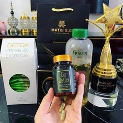 Trà Giảm Cân Go Detox tặng 1 hôp Detox trái cây - Go Detox Và Detox Fresh Everyday