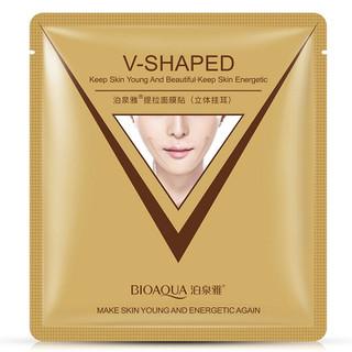 Mặt nạ Vline V-shaped làm thon gọn mặt của Bioaqua - MNVLBIO thumbnail