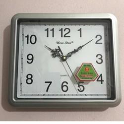 Đồng hồ treo tường Newstar N59 vuông cao cấp tặng pin