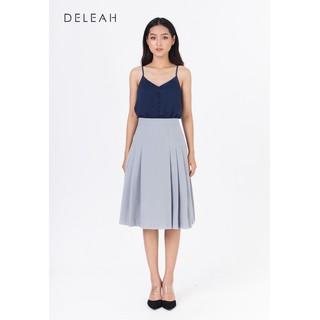 De Leah - Áo 2 Dây Cúc Bọc - Thời trang thiết kế - A1923061T thumbnail
