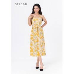 De Leah - Đầm Dây Cài Cúc Trước - Thời trang thiết kế