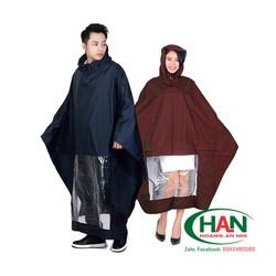 Áo mưa vải dù tổ ong may theo thiết kế - áo mưa quà tặng